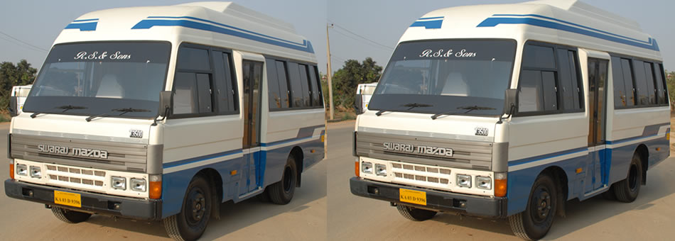 Ammco bus : Mahindra tourister van in olx